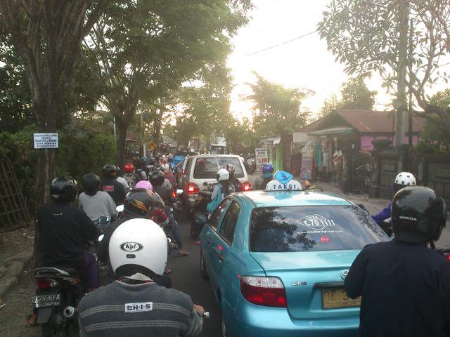 Kemacetan di kerobokan