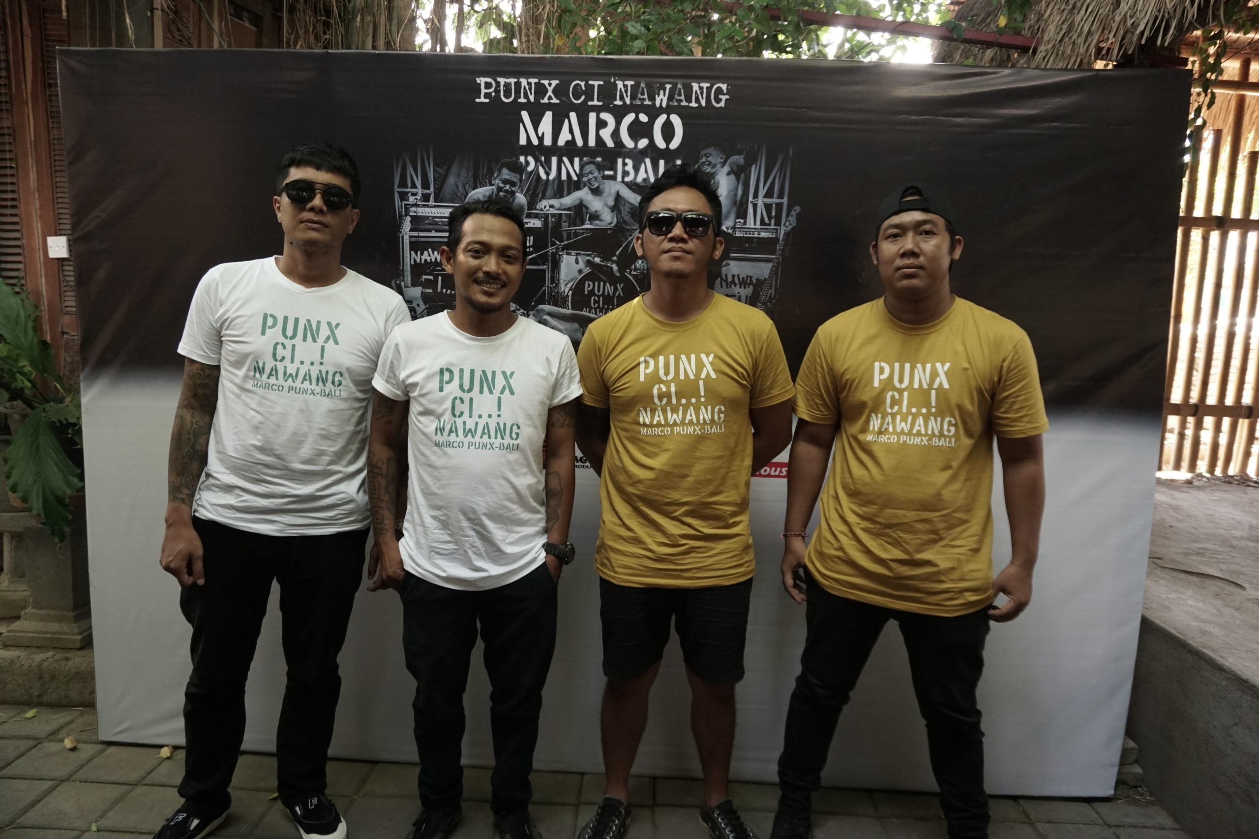 Marco Punk Bali rilis Single Pang Ci Nawang