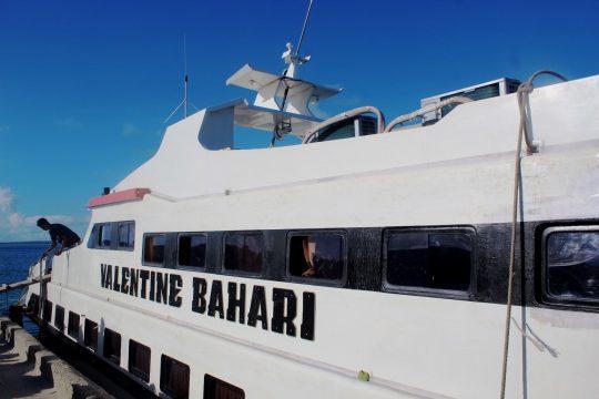 Kapal cepat Numana-Kaledupa (Dokumentasi Pribadi, Nurul Mutmainnah Jamil)